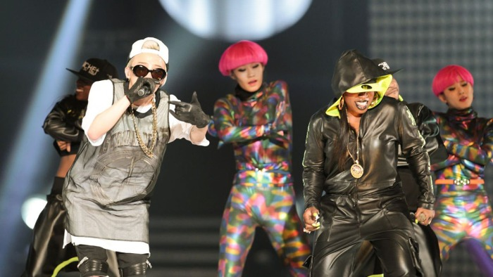 G-Dragon and Missy Elliott at KCON, Source:Hollywood Reporter