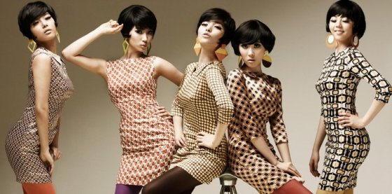 Wonder Girls, Nobody Concept, 2008