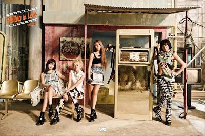 2NE1, Falling in Love Concept