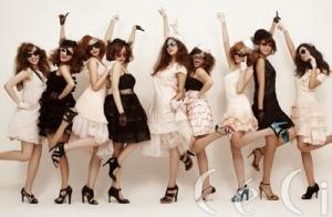 SNSD, Ceci Magazine, 2009