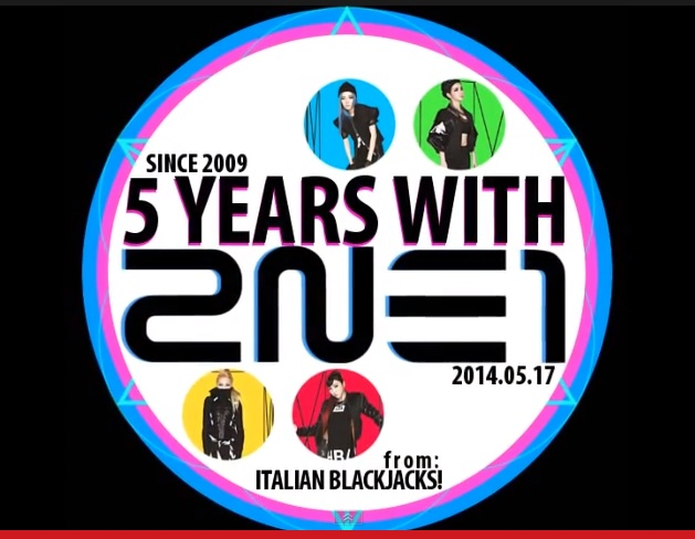 Screencap, 5th Anniversary Project by Italian Blackjacks